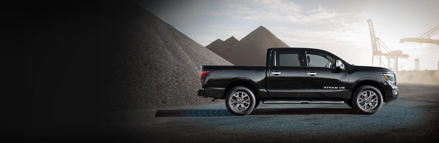 black 2020 Nissan Titan
