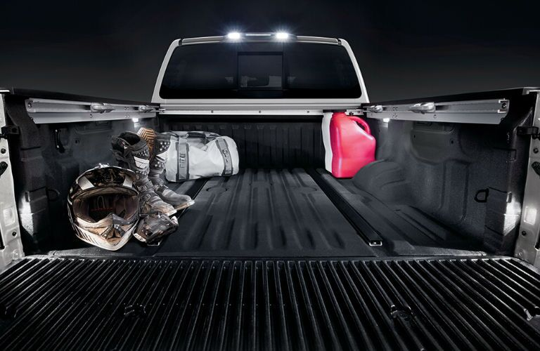 2020 Nissan TITAN XD rear cargo bed