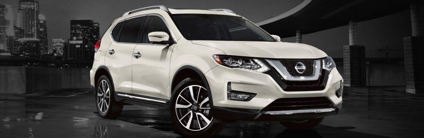 white 2020 Nissan Rogue