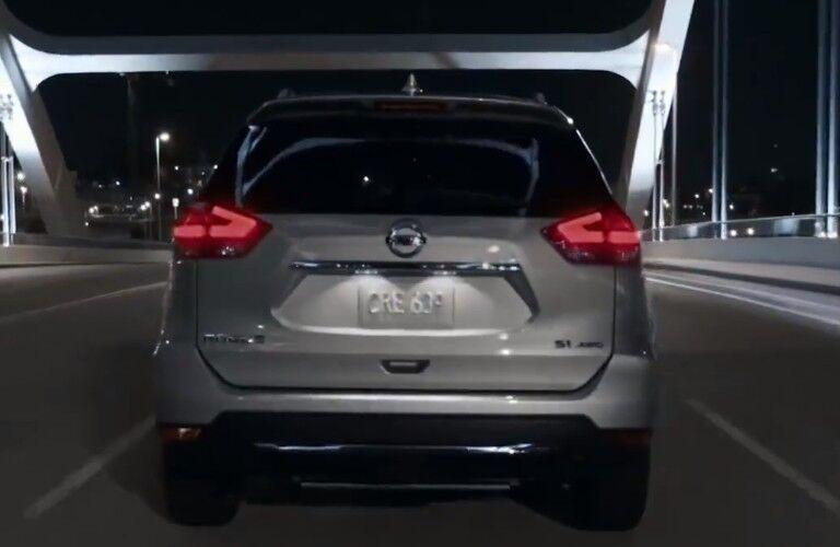 rear of 2020 Nissan Rogue