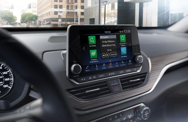 touchscreen in 2020 Nissan Altima
