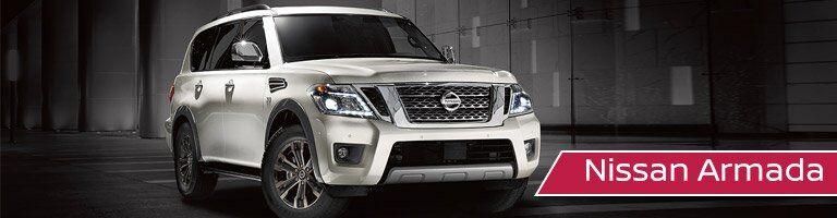 2017 Nissan Armada Front White Exterior
