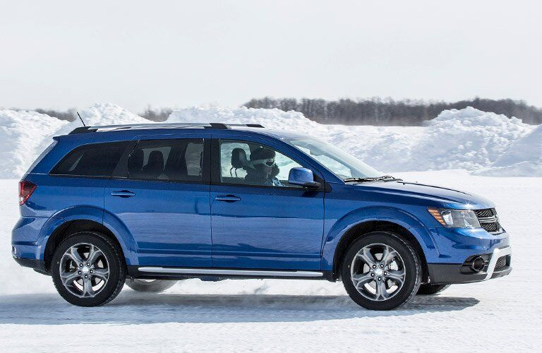 2016 Dodge Journey in blue