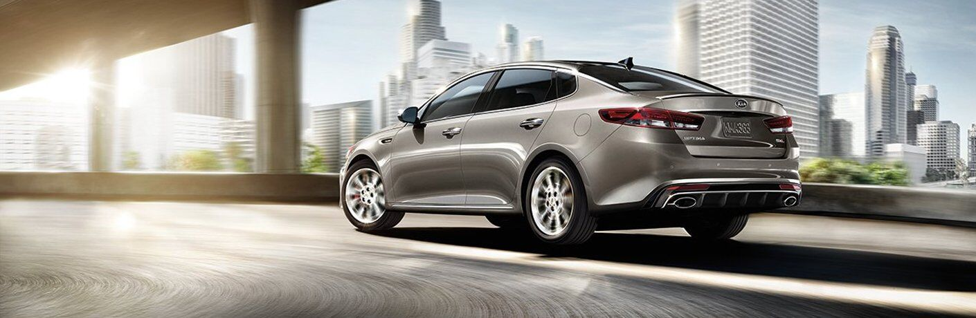 2017 Kia Optima in gray