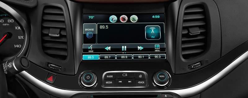 Chevy Impala Interior