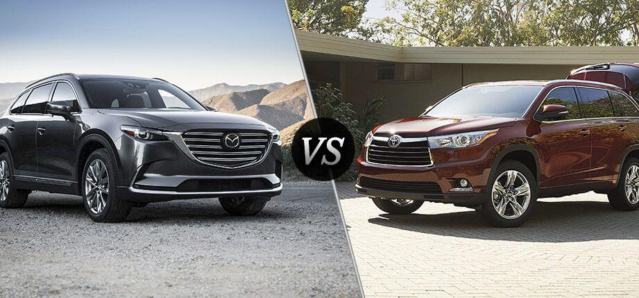 2016 Mazda CX-9 vs 2016 Toyota Highlander