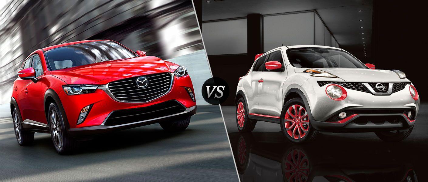 2016 Mazda CX-3 vs 2016 Nissan Juke