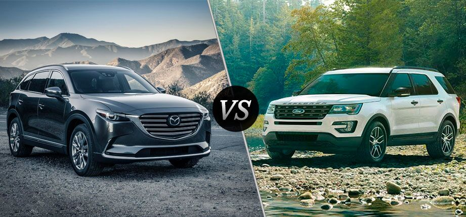 2016 Mazda CX-9 vs 2016 Ford Explorer