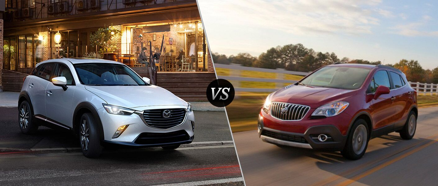 2016 Mazda CX-3 vs 2016 Buick Encore