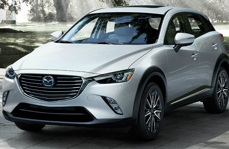 2016 mazda cx-3 in white