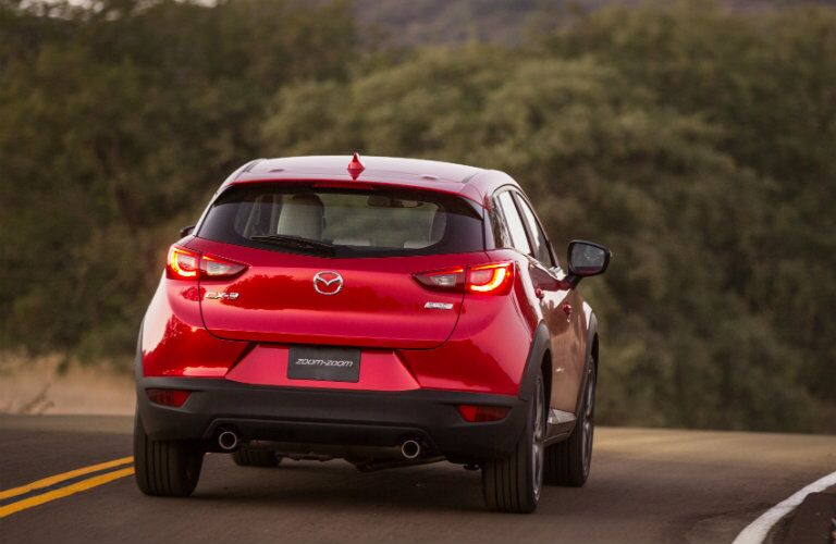 2017 mazda cx-3 taillight type design