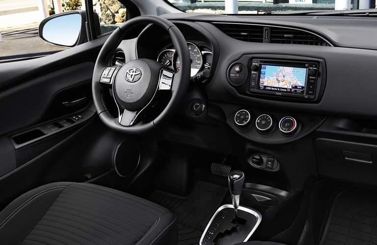 2017 Toyota Yaris interior features