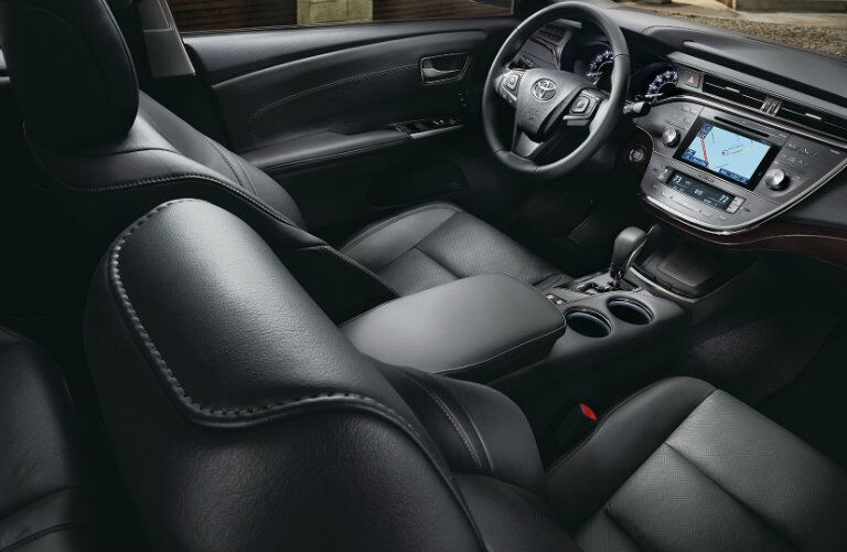 2017 Toyota Avalon Leather Interior