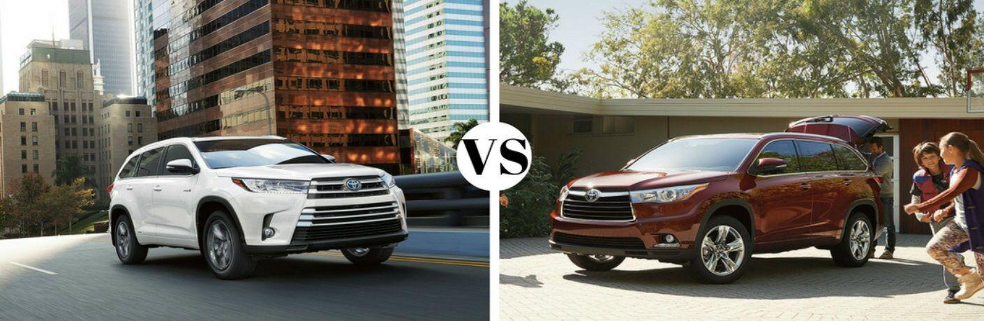2016 Toyota Highlander vs 2017 Toyota Highlander