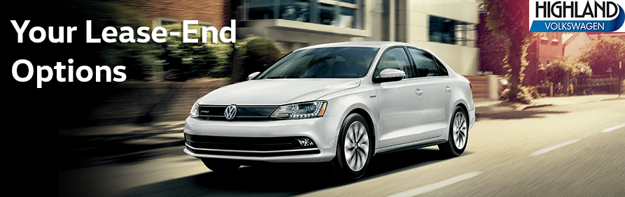 Your car lease-end options at Highland Volkswagen