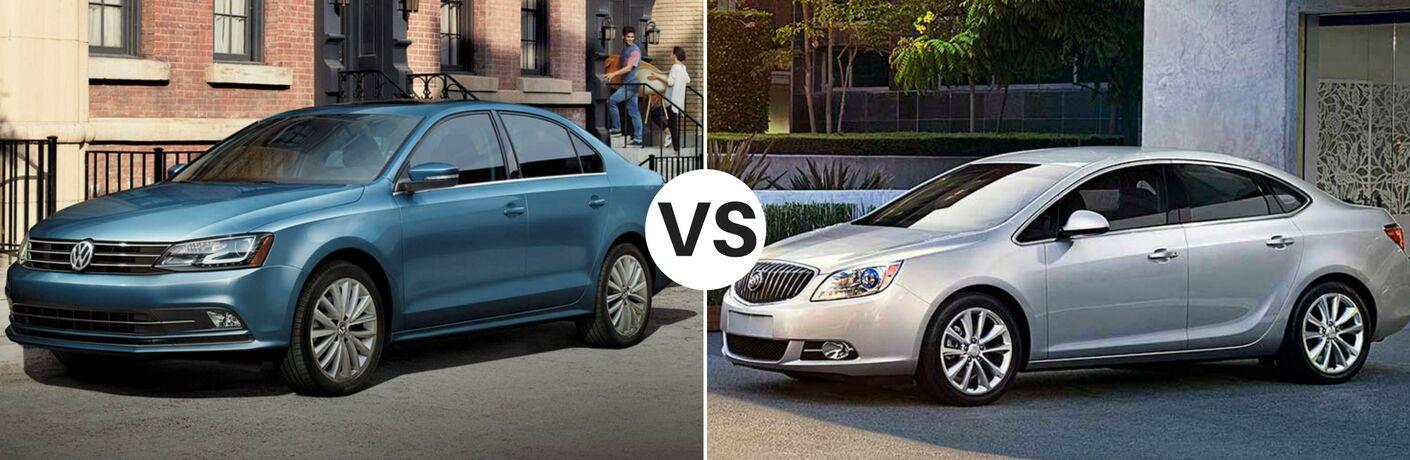 2017 Volkswagen Jetta vs 2017 Buick Verano