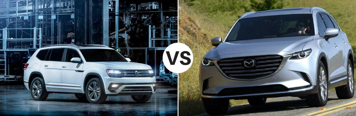 2018 Volkswagen Atlas vs 2017 Mazda CX-9