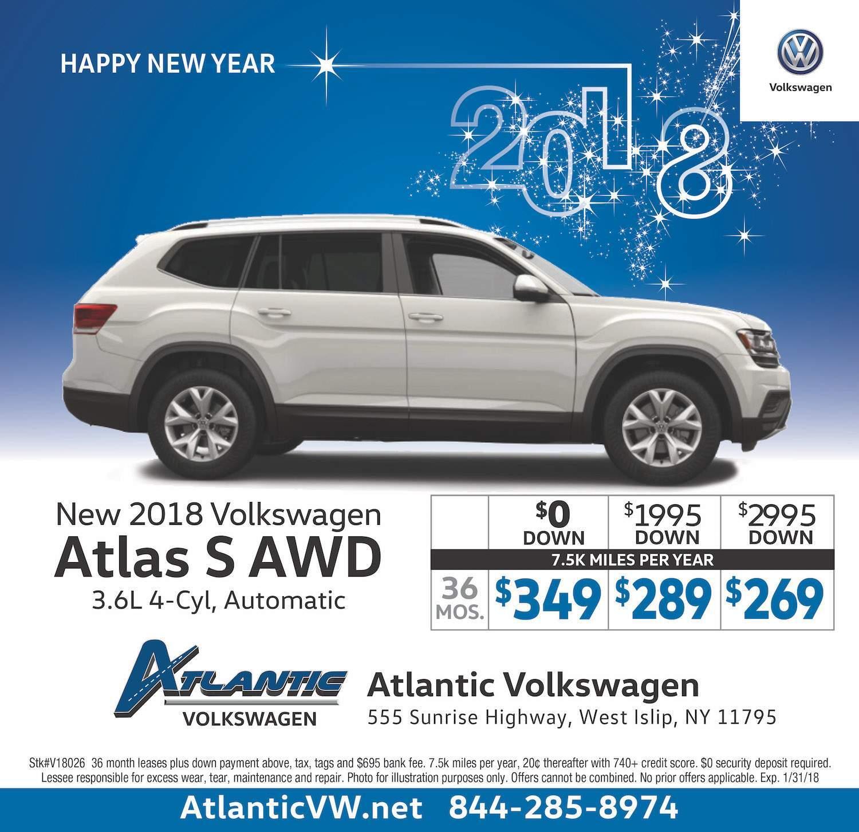 2018 Atlas Lease