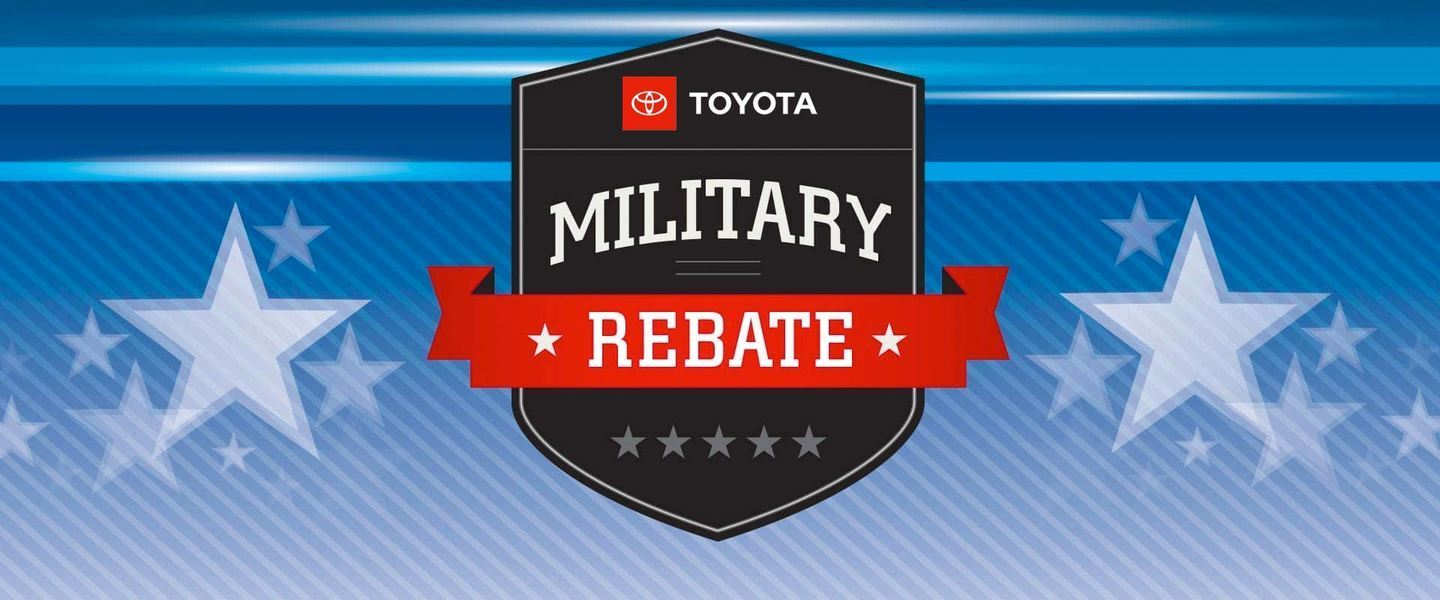 Toyota Military Discount Banner