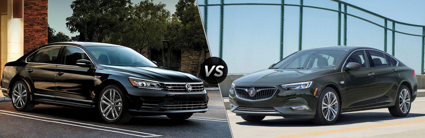 2019 Volkswagen Passat vs 2019 Buick Regal Sportback