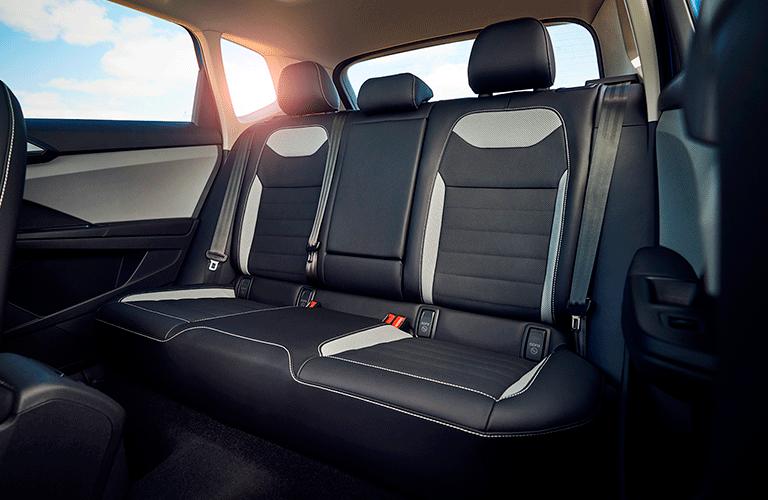 2022 VW Taos rear seats