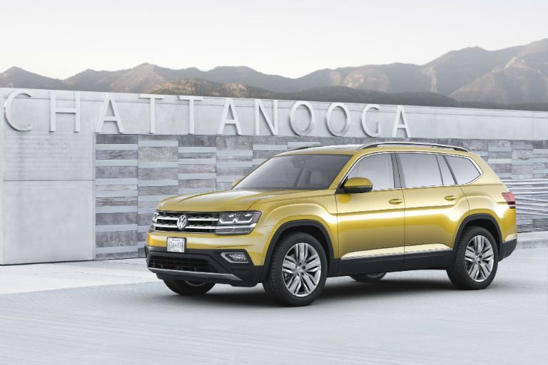 2018 Volkswagen Atlas is built in the United States