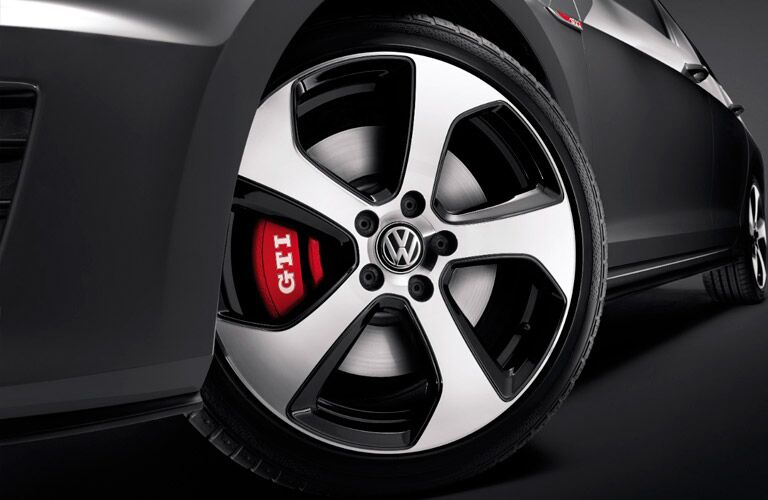 Certain 2017 Golf GTI trims offer high performance features
