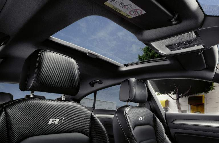 Premium features like a sunroof come standard on many Arteon versions