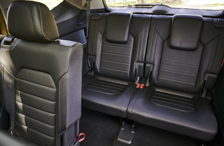 spacious rear seats of the 2018 Volkswagen Atlas