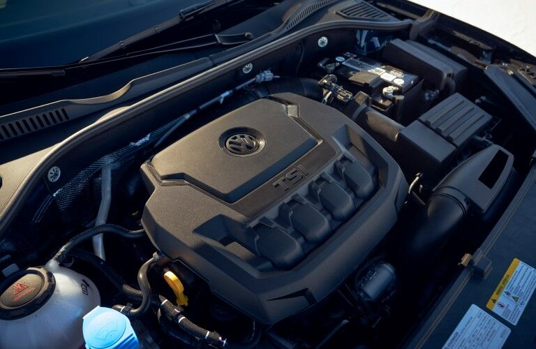 The engine used by the 2021 Volkswagen Passat.