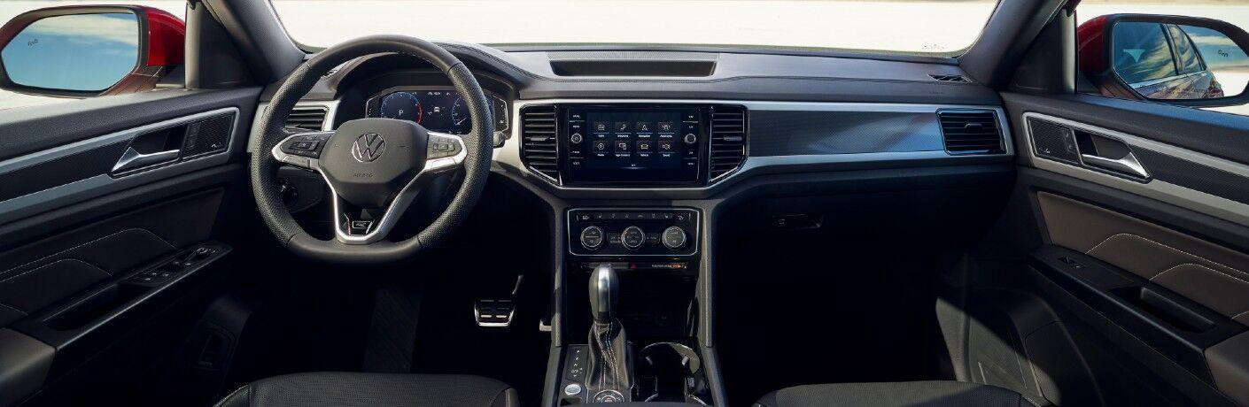The dashboard in the 2021 Hyundai Santa Fe.