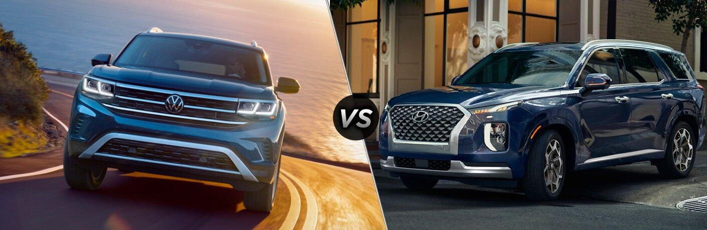 Take a look at a comparison between the 2021 Volkswagen Atlas vs. 2021 Hyundai Palisade.