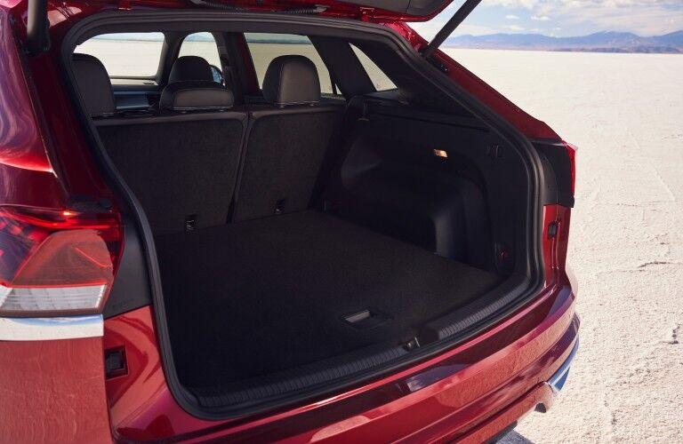 A photo of the cargo area in the 2021 VW Atlas Cross Sport.