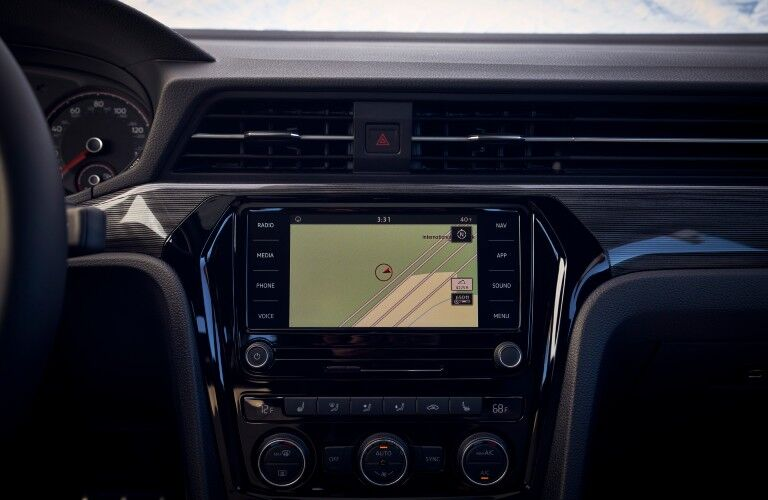 The touchscreen equipped in each 2021 Passat will be able to perform several functions.