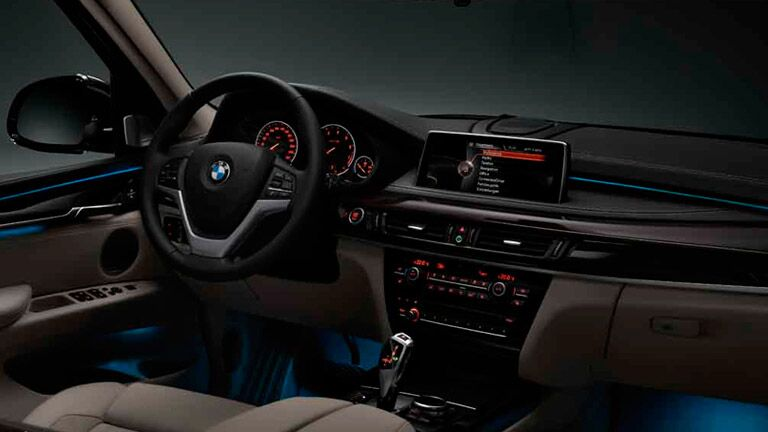 X5 Steering Wheel and Dash Board