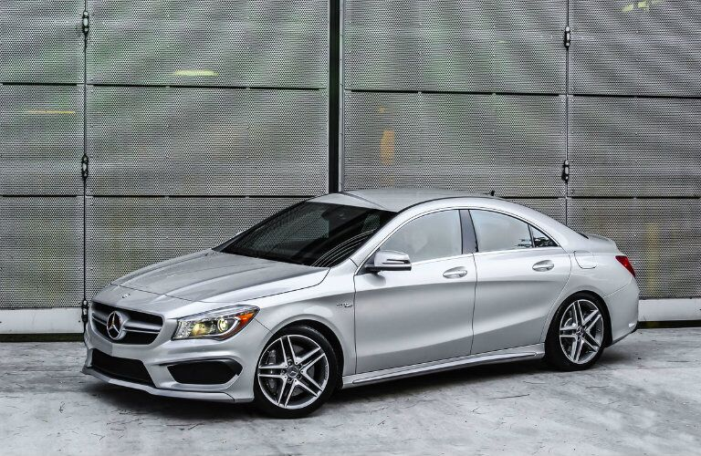 Used Mercedes-AMG CLA Side View
