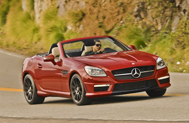 Used Mercedes-AMG SLK Front View