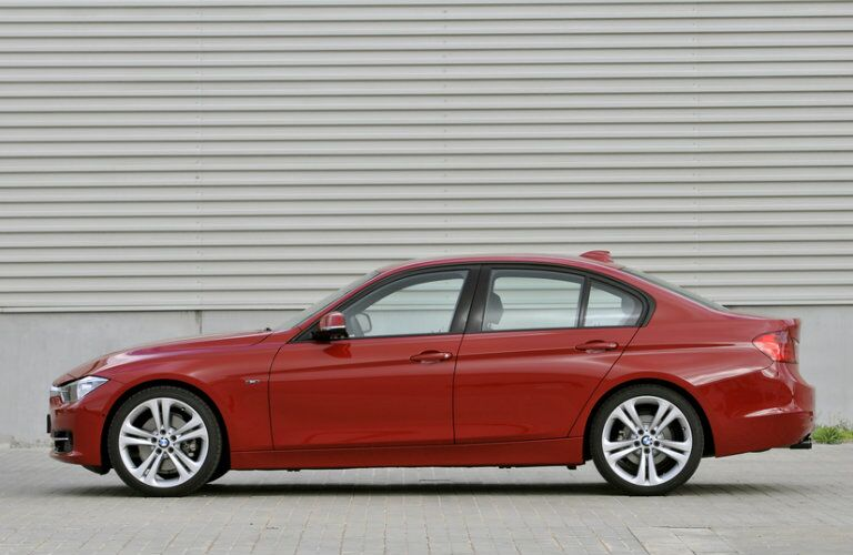 Used BMW 3 Series with Red Exterior