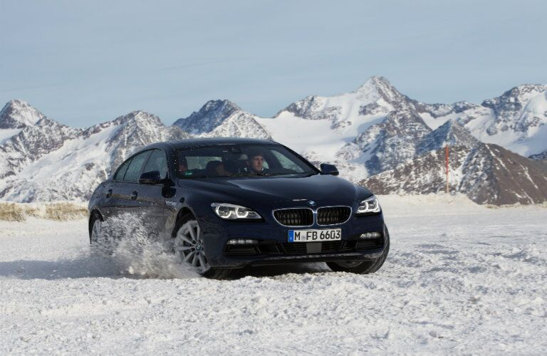 Used BMW 6 Series all wheel drive system