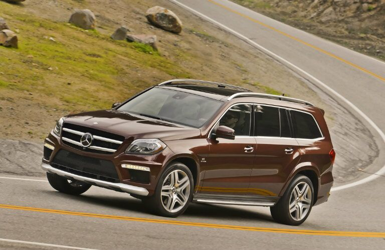 Used Mercedes-AMG GLE Side View