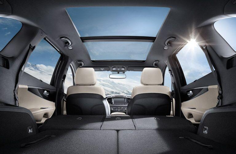 2016 Sorento 60/40 split rear seating
