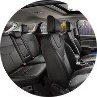2016 Ford Focus interior seats