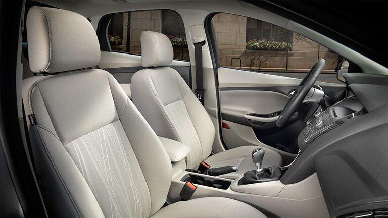 2016 Ford Focus interior seating