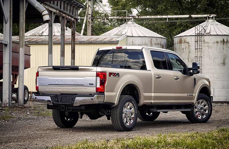 2017 Ford Super Duty pickup rear