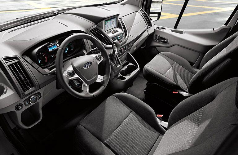 2017 Ford Transit interior seats