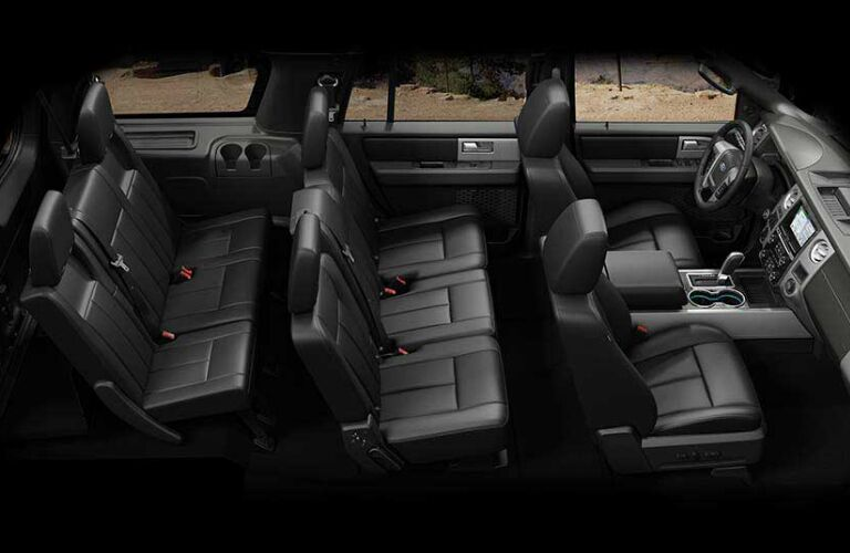2017 Ford Expedition interior seating area