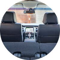 2017 Ford Flex seating area