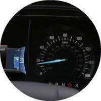 2017 Ford Fusion Energi speedometer