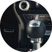 2017 Ford Mustang interior shifter