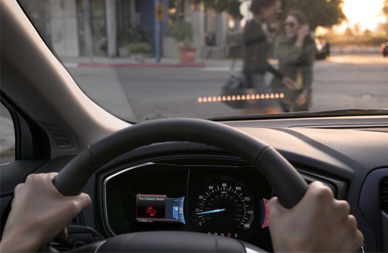 2017 Ford Fusion Energi interior instrument cluster